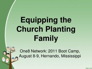 Equipping the Church Planting Family