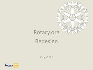 Rotary Redesign July 2013
