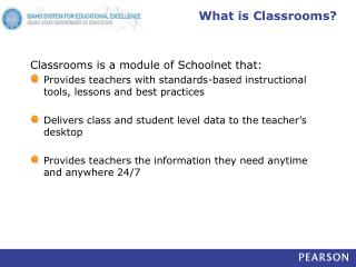 What is Classrooms?