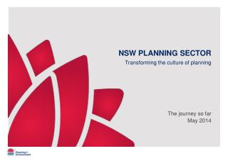 NSW PLANNING  SECTOR
