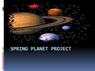 Spring Planet Project