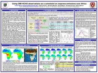 Using OMI HCHO observations as a constraint on isoprene emissions over Africa