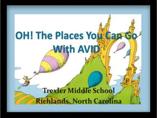 OH! The Places You Can Go With AVID