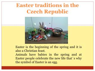 Easter traditions  in  the Czech Republic