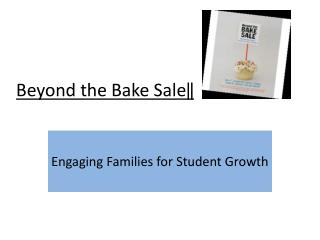 Beyond  the Bake Sale‖
