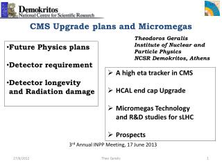 CMS Upgrade plans and Micromegas