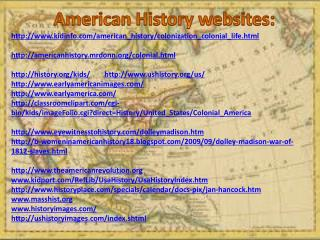 kidinfo/american_history/colonization_colonial_life.html