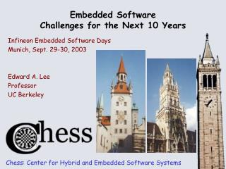 Embedded Software Challenges for the Next 10 Years