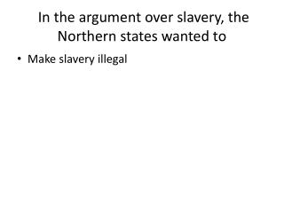 The civil war  Continued