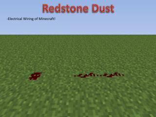 Redstone Dust