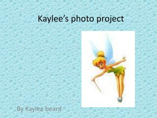 Kaylee's photo project