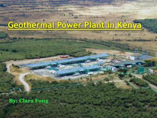 Geothermal Power Plant in Kenya