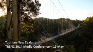 Tourism New Zealand TRENZ 2014 Media Conference – 19 May