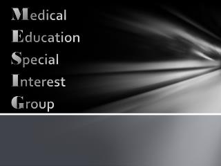M edical  E ducation  S pecial  I nterest  G roup