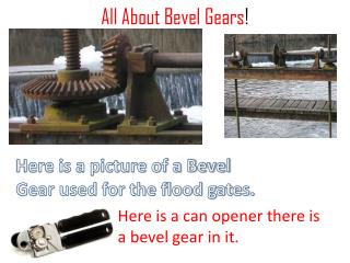 All About Bevel Gears !