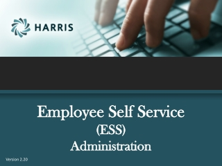Employee Self Service (ESS) Administration