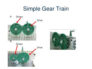 Simple Gear Train