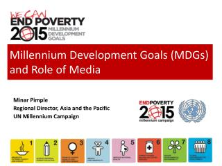 Millennium Development Goals (MDGs) and Role of Media