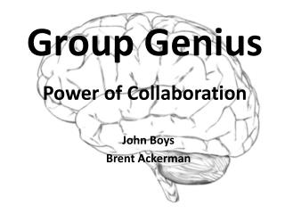 Group Genius Power of Collaboration