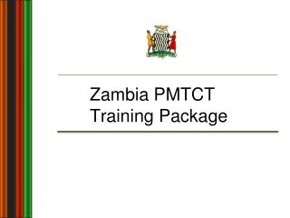 Zambia PMTCT Training Package