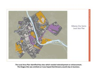 The Local Area Plan identified Key sites which needed redevelopment or enhancement.
