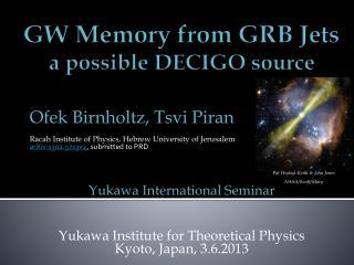 GW Memory from GRB Jets a possible DECIGO source
