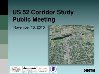 US 52 Corridor Study  Public Meeting