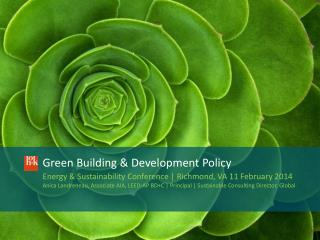 Green Building & Development Policy