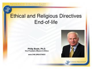 Ethical and Religious Directives End-of-life