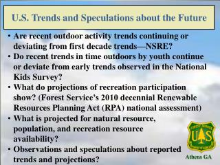 U.S. Trends and Speculations about the Future