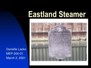 Eastland Steamer