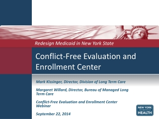 Conflict-Free Evaluation and Enrollment Center