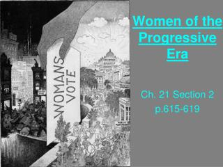 Women of the Progressive Era