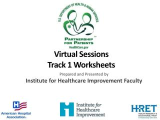 Virtual Sessions Track 1  Worksheets