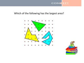 Which of the following has the largest area?
