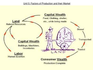 Unit 5: Factors of Production and their Market