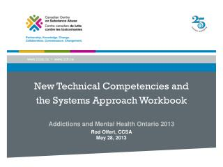 New Technical Competencies  and  the Systems Approach Workbook