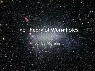 The Theory of Wormholes