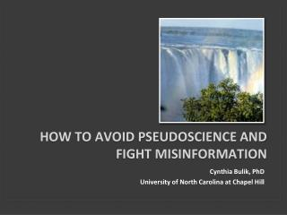 How to avoid pseudoscience and fight misinformation