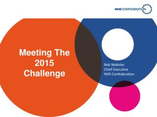 Meeting  The 2015 Challenge