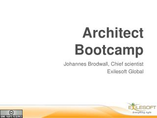 Architect Bootcamp