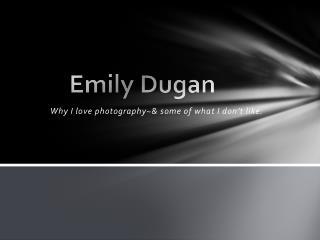 Emily Dugan