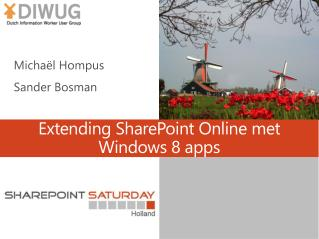 Extending SharePoint Online met Windows 8 apps