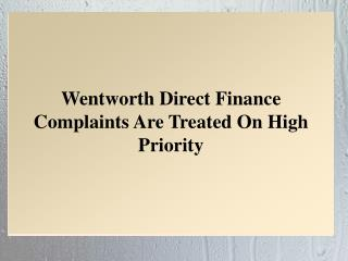 Wentworth Direct Finance