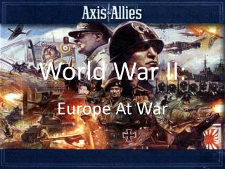 World War II: