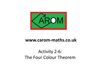 Activity 2-6:  The Four Colour Theorem