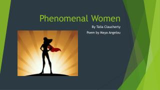 Phenomenal Women