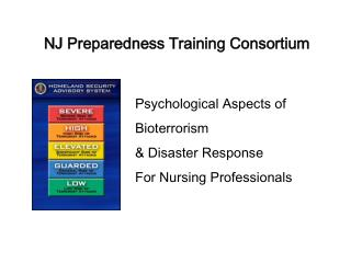 NJ Preparedness Training Consortium