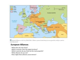 European Alliances