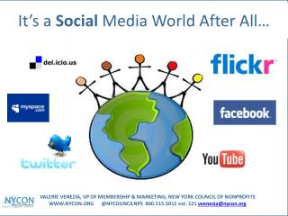 It's a  Social  Media World After All…